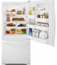 Amana® 18.5 cu. ft. Bottom-Freezer Refrigerator with Greater Efficiency - ABB1924BRW - Door Open