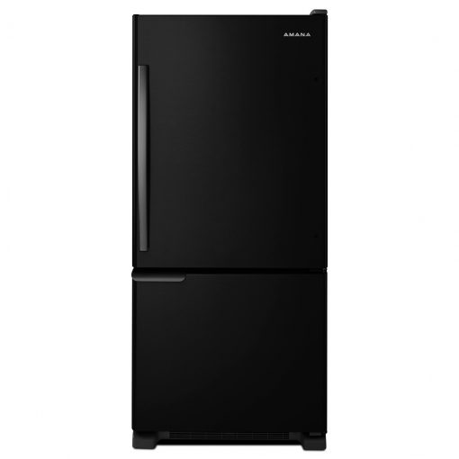 ABB1921BRB29-INCH WIDE AMANA® BOTTOM-FREEZER REFRIGERATOR WITH GARDEN FRESH™ CRISPER BINS — 18 CU. FT. CAPACITY