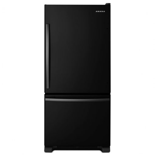 ABB1924BRB29-INCH WIDE AMANA® BOTTOM-FREEZER REFRIGERATOR WITH EASYFREEZER™ PULL-OUT DRAWER — 18 CU. FT. CAPACITY