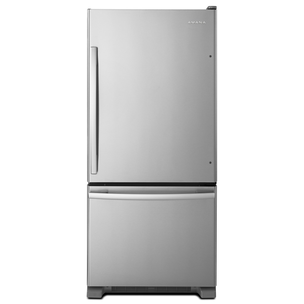 ABB1924BRMAMANA® 29 INCH WIDE AMANA® BOTTOM FREEZER REFRIGERATOR WITH  EASYFREEZER™ PULL