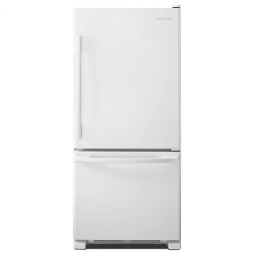 ABB1924BRWAMANA® 18.5 CU. FT. BOTTOM-FREEZER REFRIGERATOR WITH GREATER EFFICIENCY