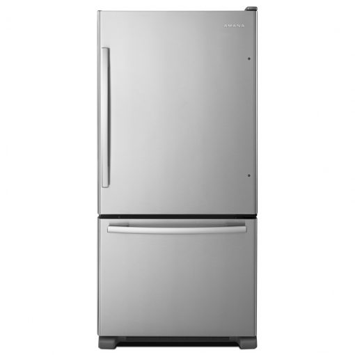 ABB2224BRMAMANA® 33-INCH WIDE AMANA® BOTTOM-FREEZER REFRIGERATOR WITH EASYFREEZER™ PULL-OUT DRAWER − 22 CU. FT. CAPACITY