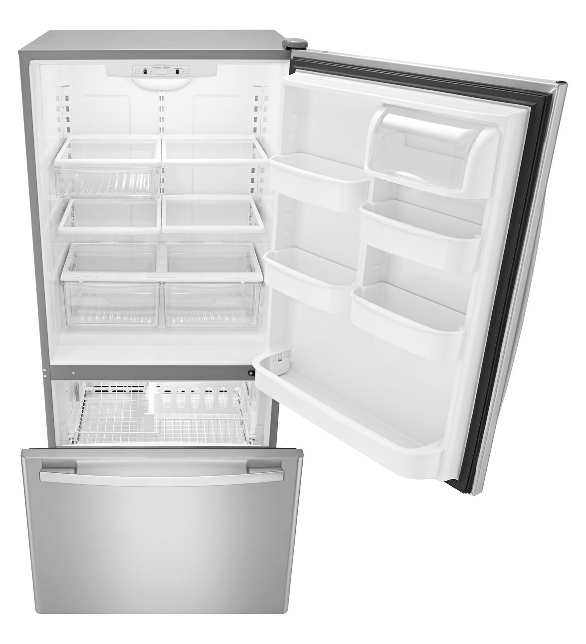 ABB2224BRM Amana 33inch Wide Amana BottomFreezer Refrigerator
