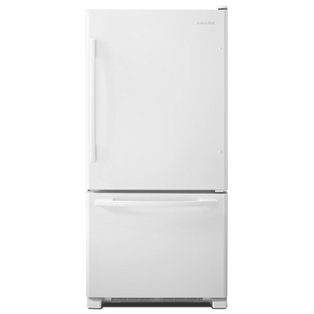 Abb2224brw Amana 174 22 Cu Ft Bottom Freezer Refrigerator