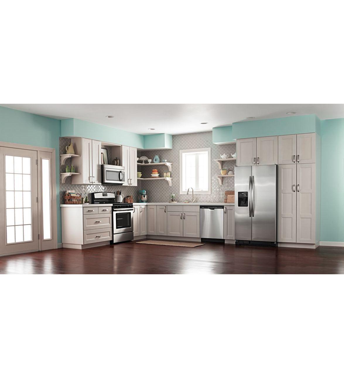 Adb1700ads lave vaisselle cuve haute amana avec for Interieur lave vaisselle