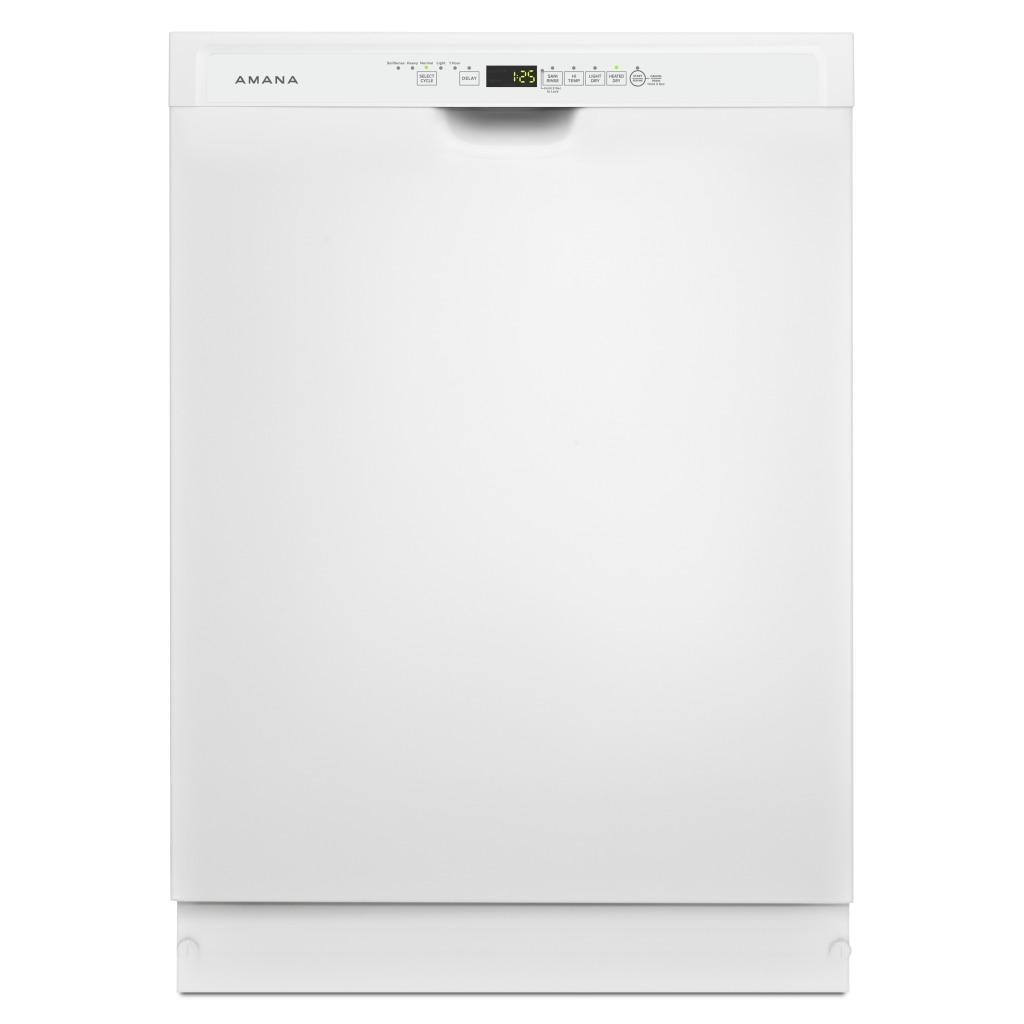 Adb1700adw Amana Tall Tub Dishwasher With Stainless Steel Interior