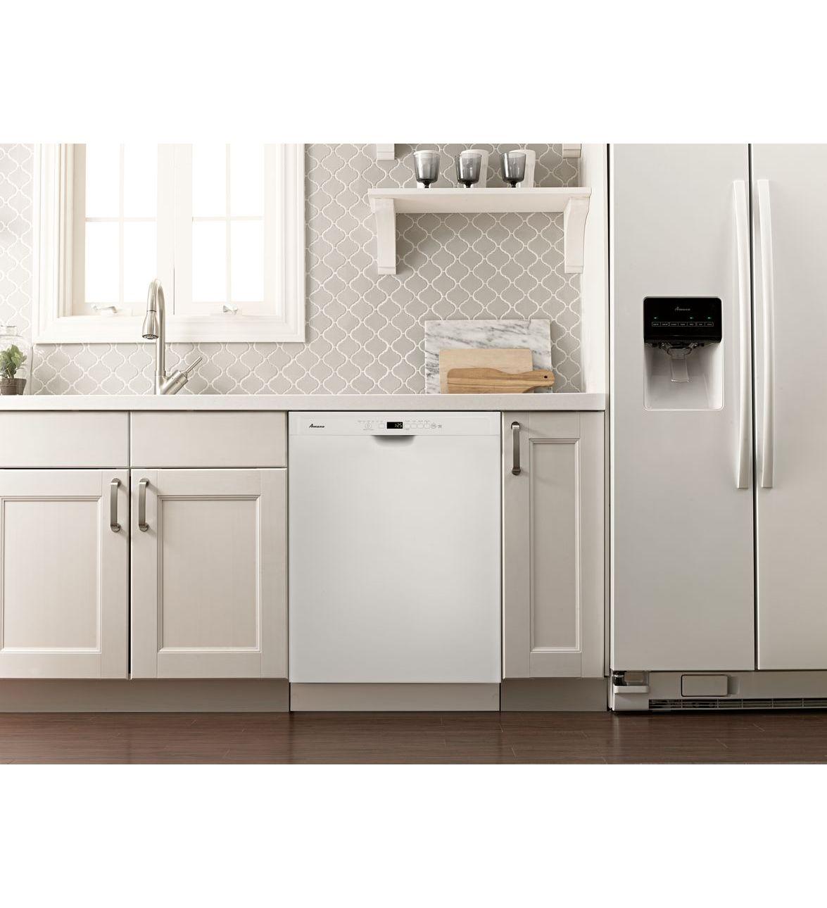 Adb1700adw lave vaisselle cuve haute amana avec for Interieur lave vaisselle