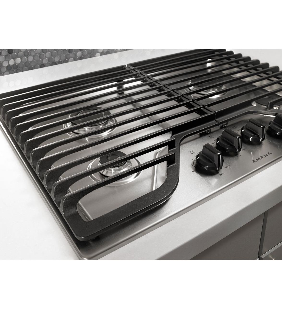 agc6540kfw 30 inch gas cooktop with 4 burners. Black Bedroom Furniture Sets. Home Design Ideas