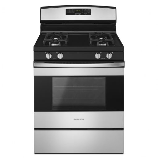 AGR6603SFS30-INCH AMANA® GAS RANGE WITH SELF-CLEAN OPTION