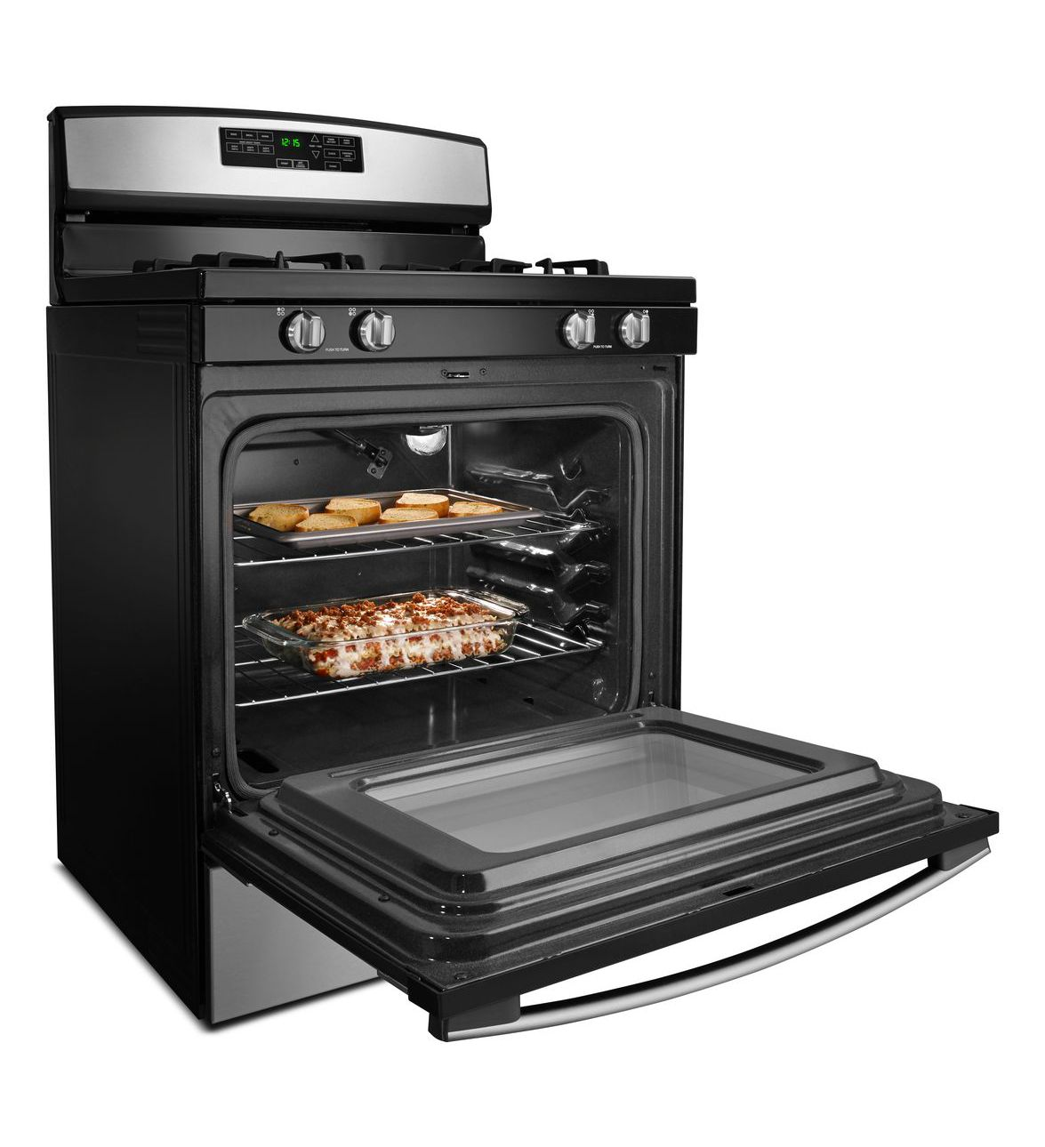 agr6603sfw 30 inch gas range with self clean option. Black Bedroom Furniture Sets. Home Design Ideas