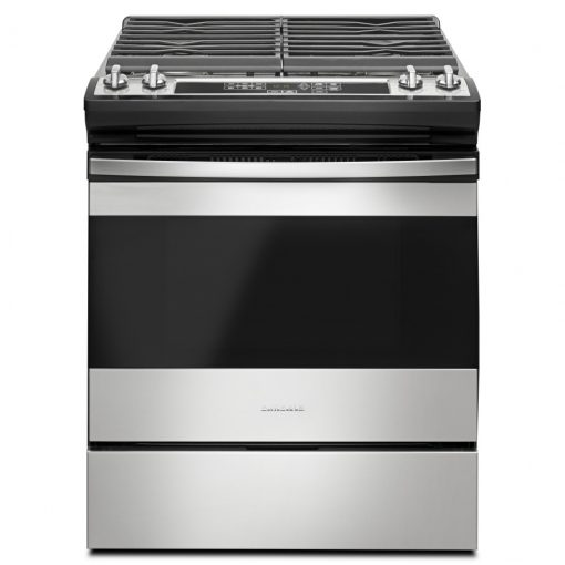 AGS6603SFS30-INCH GAS RANGE WITH FRONT CONSOLE