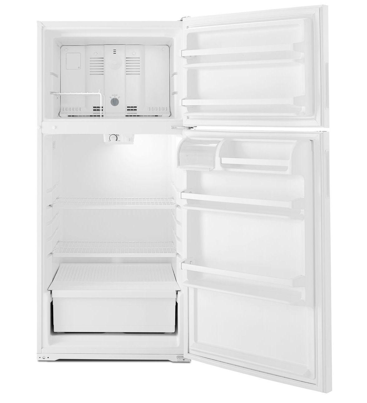 Art104tfdw Amana 174 14 Cu Ft Top Freezer Refrigerator