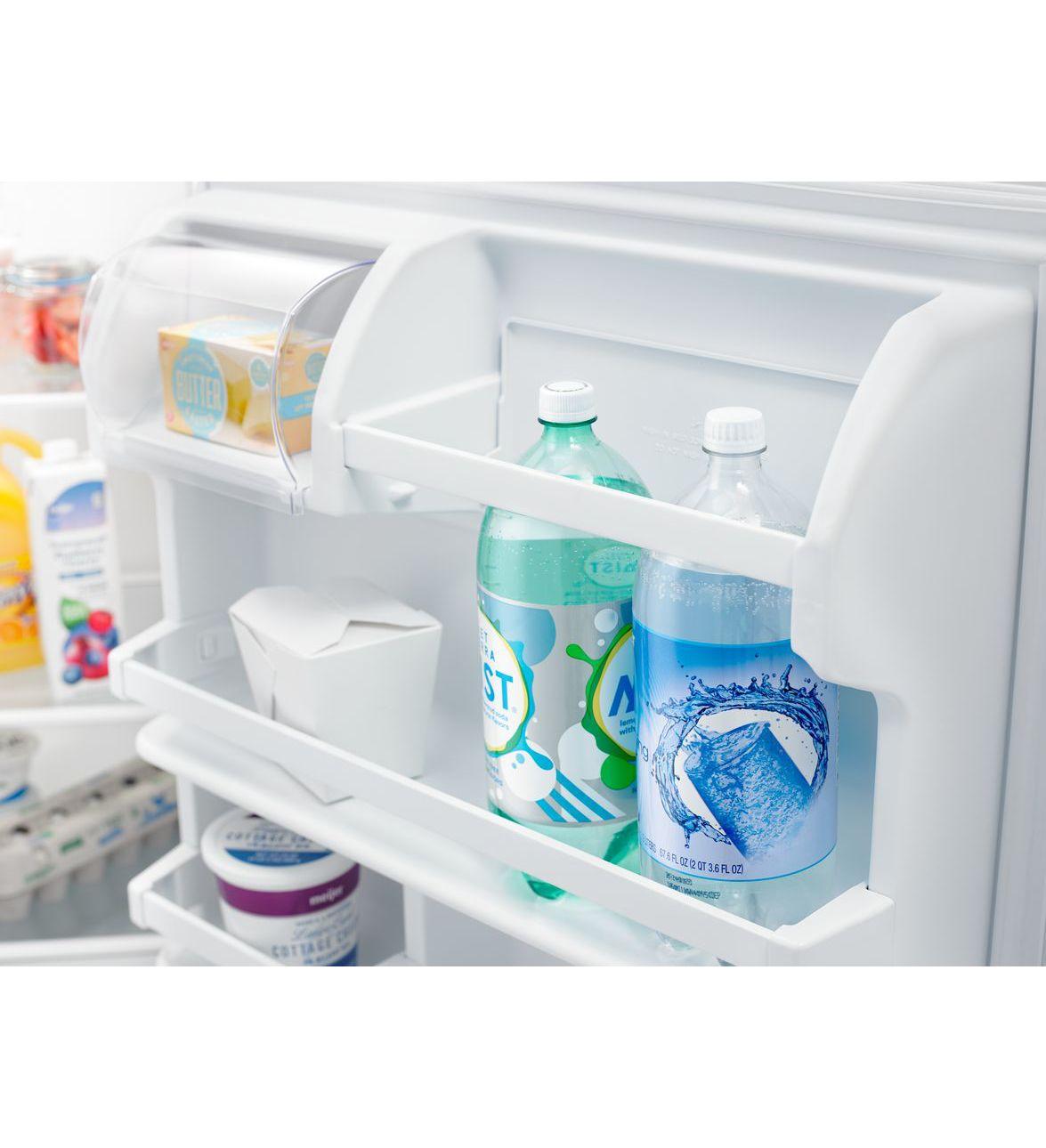 ART318FFDW) Amana® 30-inch Wide Top-Freezer Refrigerator with Glass ...
