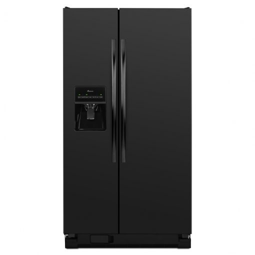 ASD2575BRB35.5-INCH WIDE AMANA® SIDE-BY-SIDE REFRIGERATOR WITH GALLON DOOR STORAGE BINS — 24 CU. FT. CAPACITY