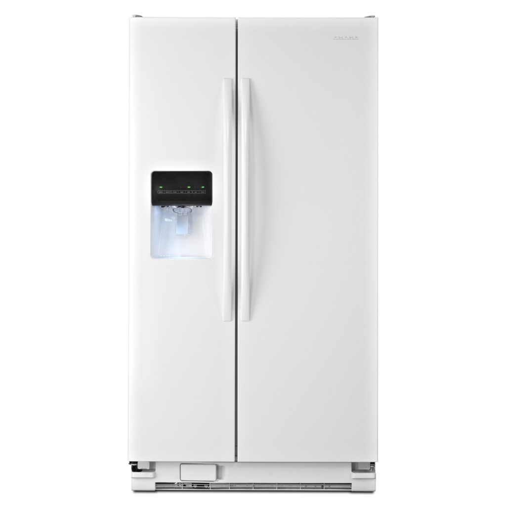 ASD2575BRW35.5 INCH WIDE AMANA® SIDE BY SIDE REFRIGERATOR WITH GALLON