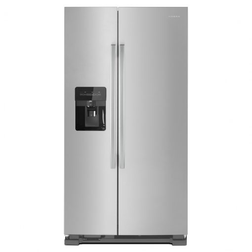 ASI2175GRS33-INCH SIDE-BY-SIDE REFRIGERATOR WITH DUAL PAD EXTERNAL ICE AND WATER DISPENSER
