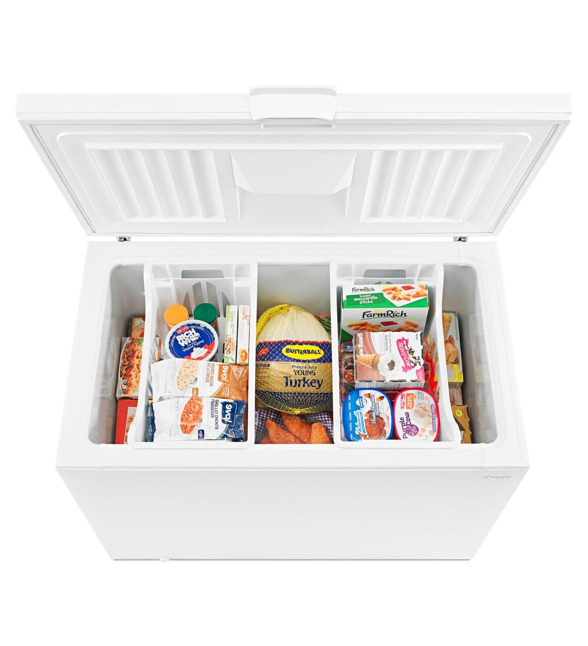 Azc31t15dw amana 15 cu ft amana chest freezer with 2 How long do things last in the freezer