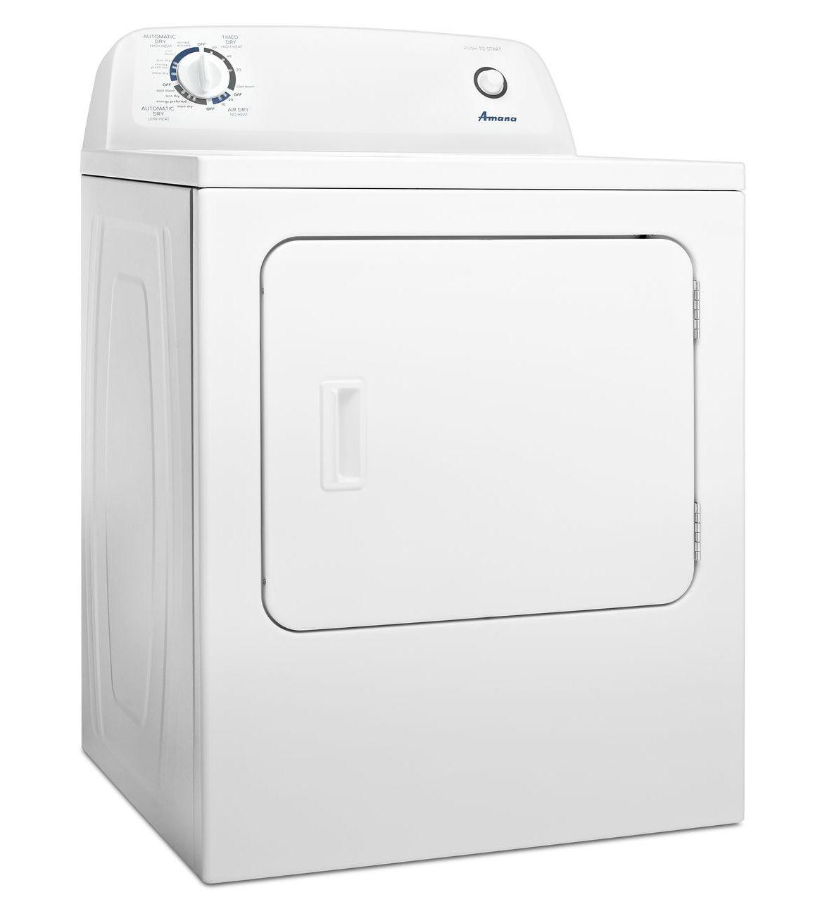 amana clothes dryer