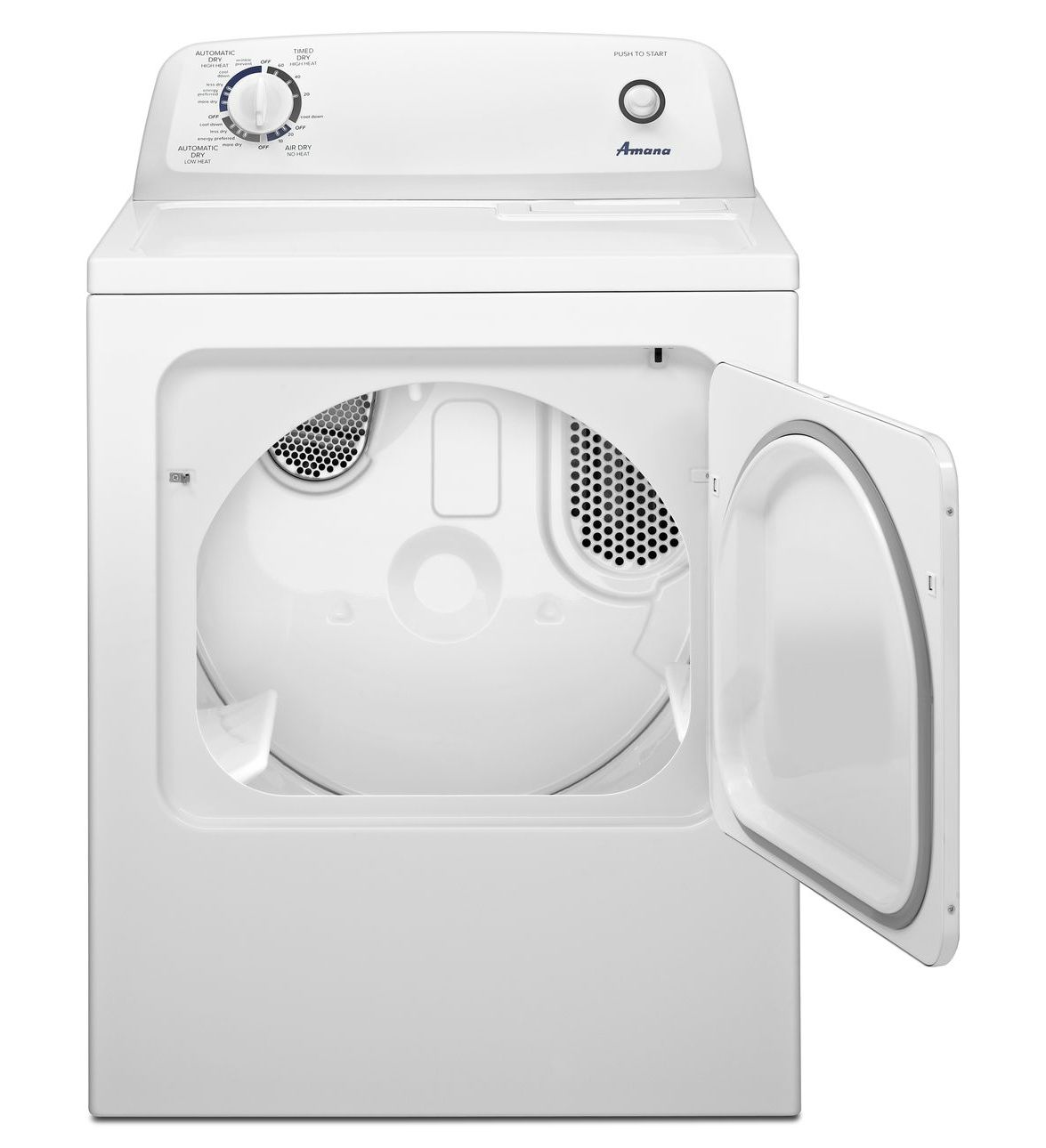 Ngd4655ew Amana 174 6 5 Cu Ft Top Load Gas Dryer With