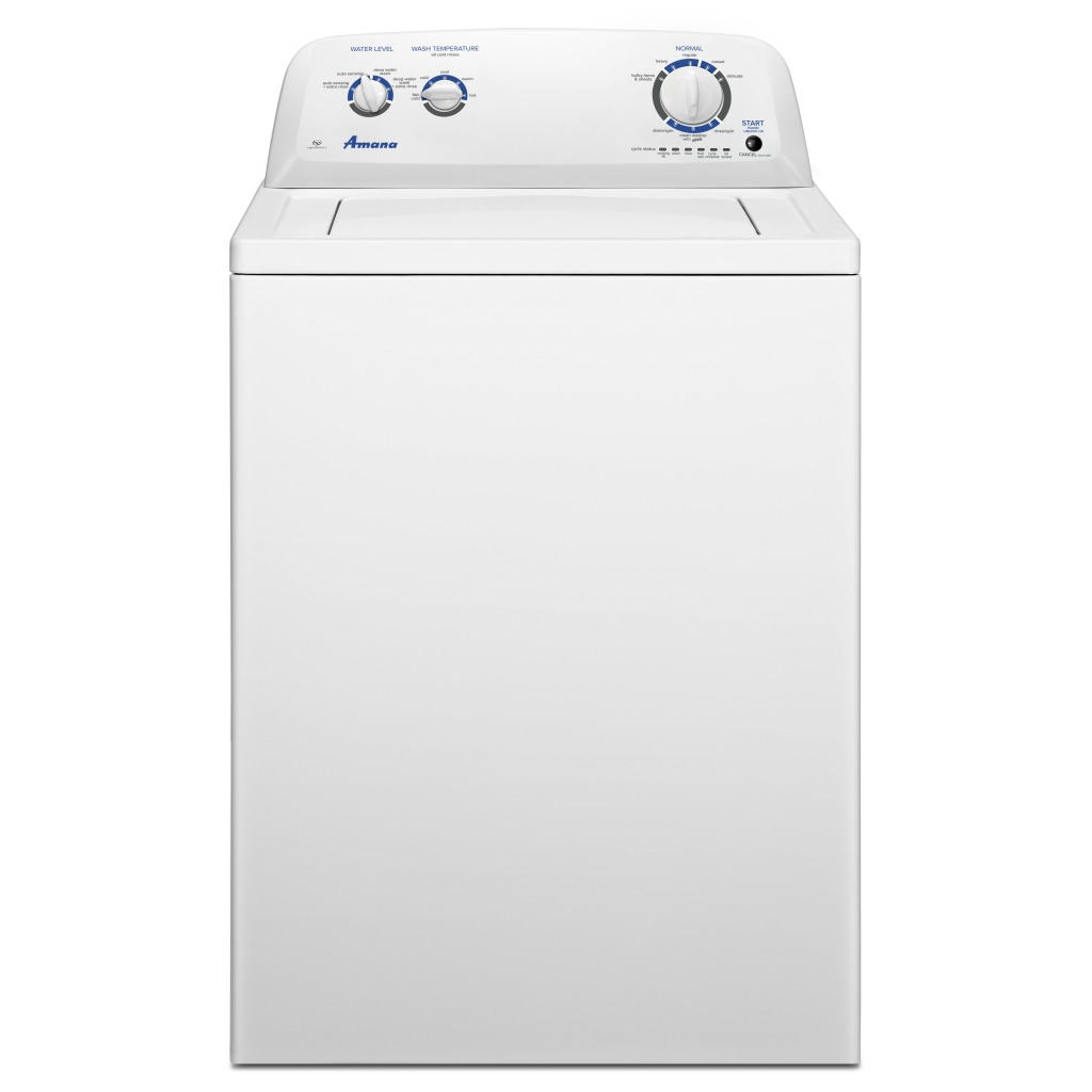 Amana 4 0 cu  ft  Top-Load Washer with Dual Action Agitator