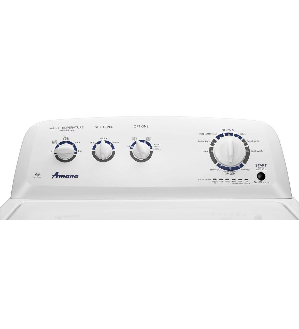 Ntw4755ew Amana 42 Cu Ft Iec High Efficiency Top Load Washer Washing Machine Wiring Diagram Ntw4755ewgallery Image