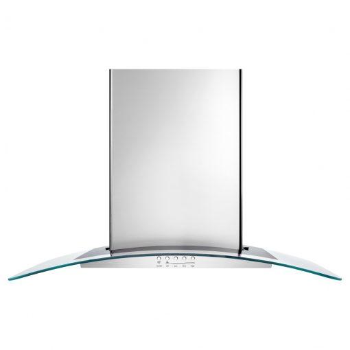 """UXW6536BSS36"""" CONVERTIBLE WALL-MOUNT 400-CFM GLASS CANOPY HOOD"""