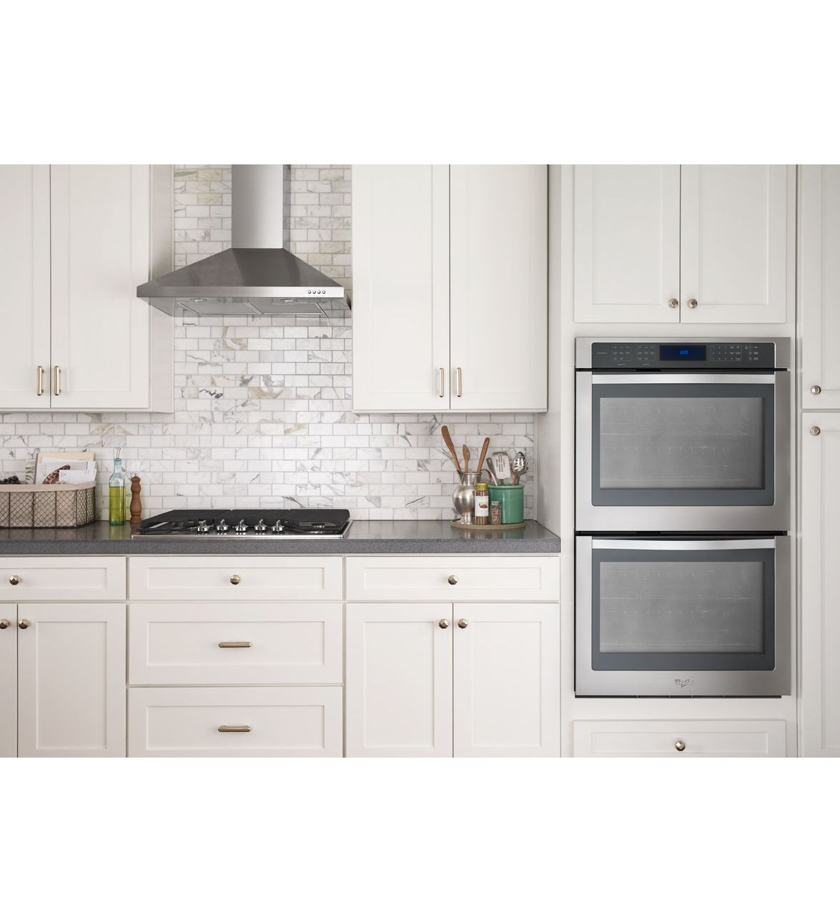 Wall Mount Range Hoods ~ Wvw uc fs whirlpool quot contemporary stainless steel