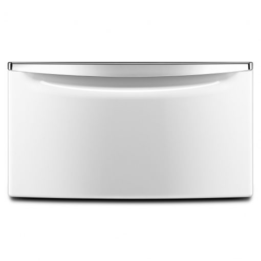 "XHPC155XW15.5"" (39.37 CM) LAUNDRY PEDESTAL WITH CHROME HANDLE AND STORAGE DRAWER"