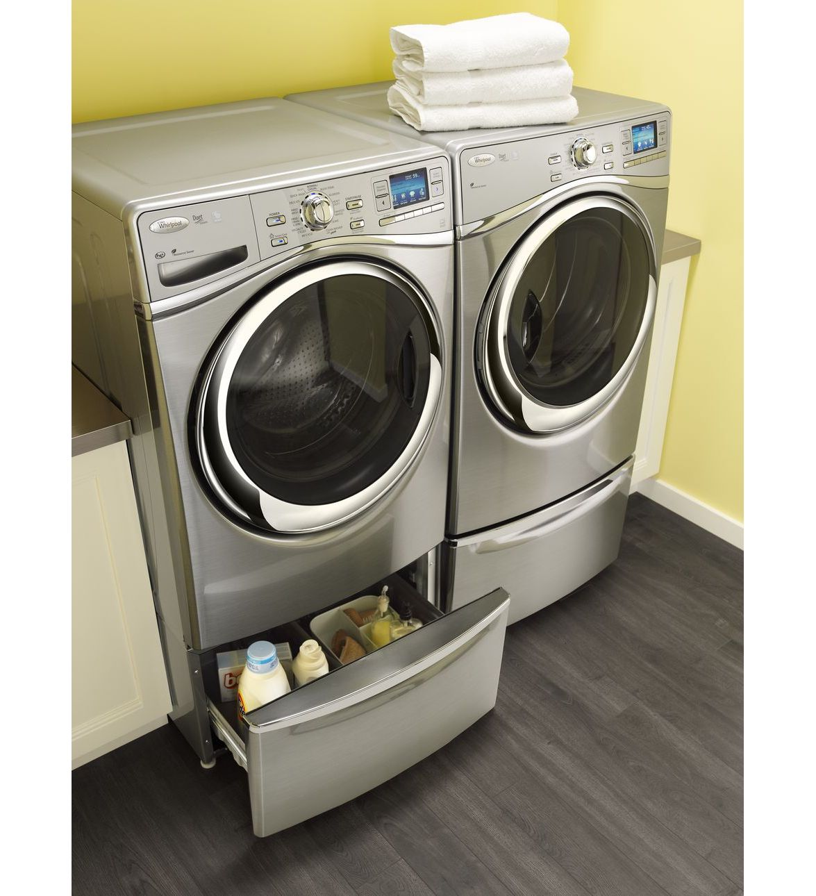 Xhpc155yc 15 5 Quot Laundry Pedestal With Chrome Handle And