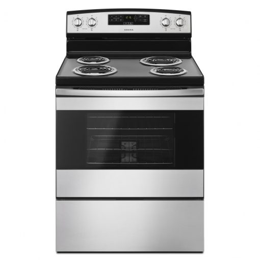 YACR4303MFS30-INCH AMANA® ELECTRIC RANGE WITH BAKE ASSIST TEMPS