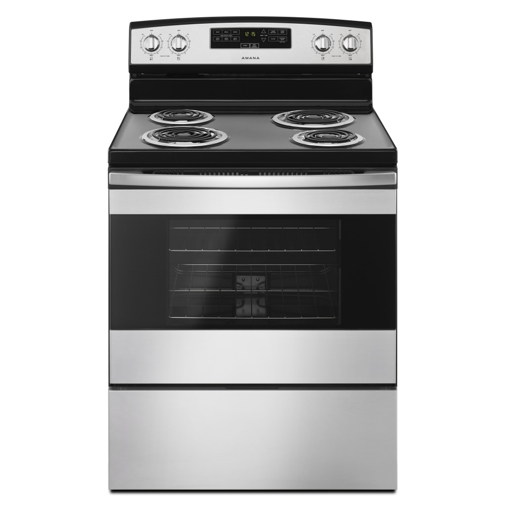 Yacr4303mfs 30 Inch Amana Electric Range With Bake Assist Temps Gas Stove Wiring Diagram Yacr4303mfs30