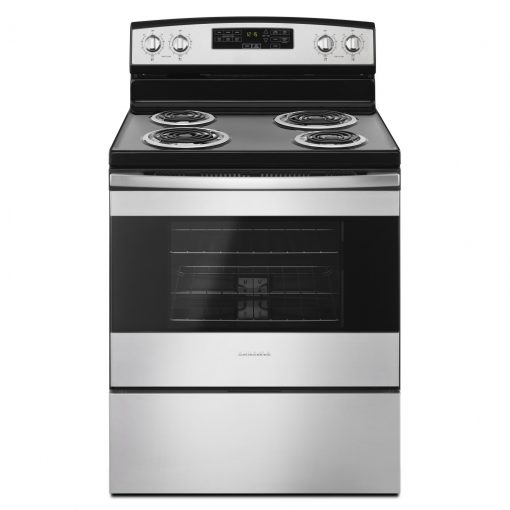 YACR4503SFS30-INCH AMANA® ELECTRIC RANGE WITH SELF-CLEAN OPTION