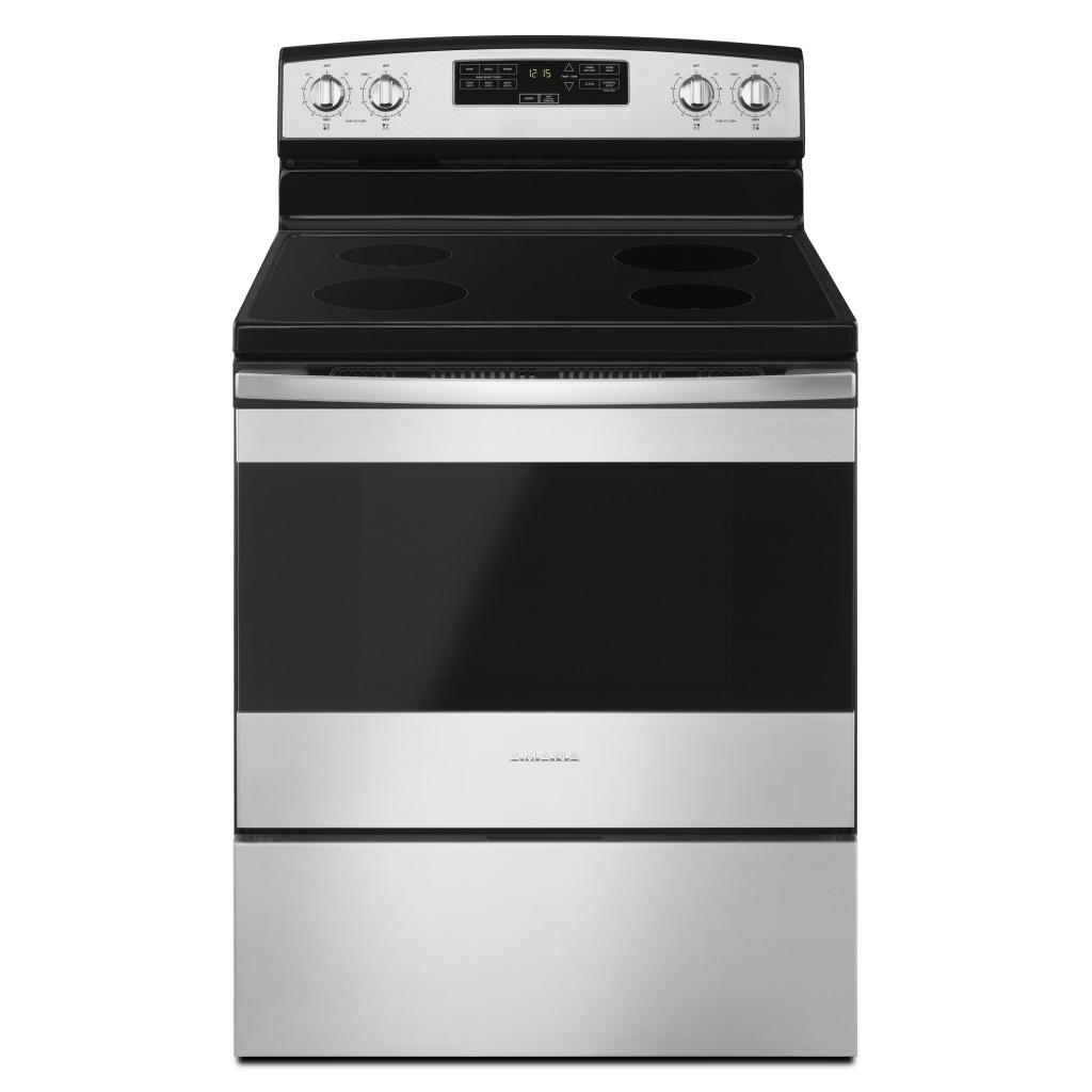 yaer6303mfs 30 inch amana electric range with extra large oven window rh amanacanada ca Amana Electric Range Problems Amana Oven Manual