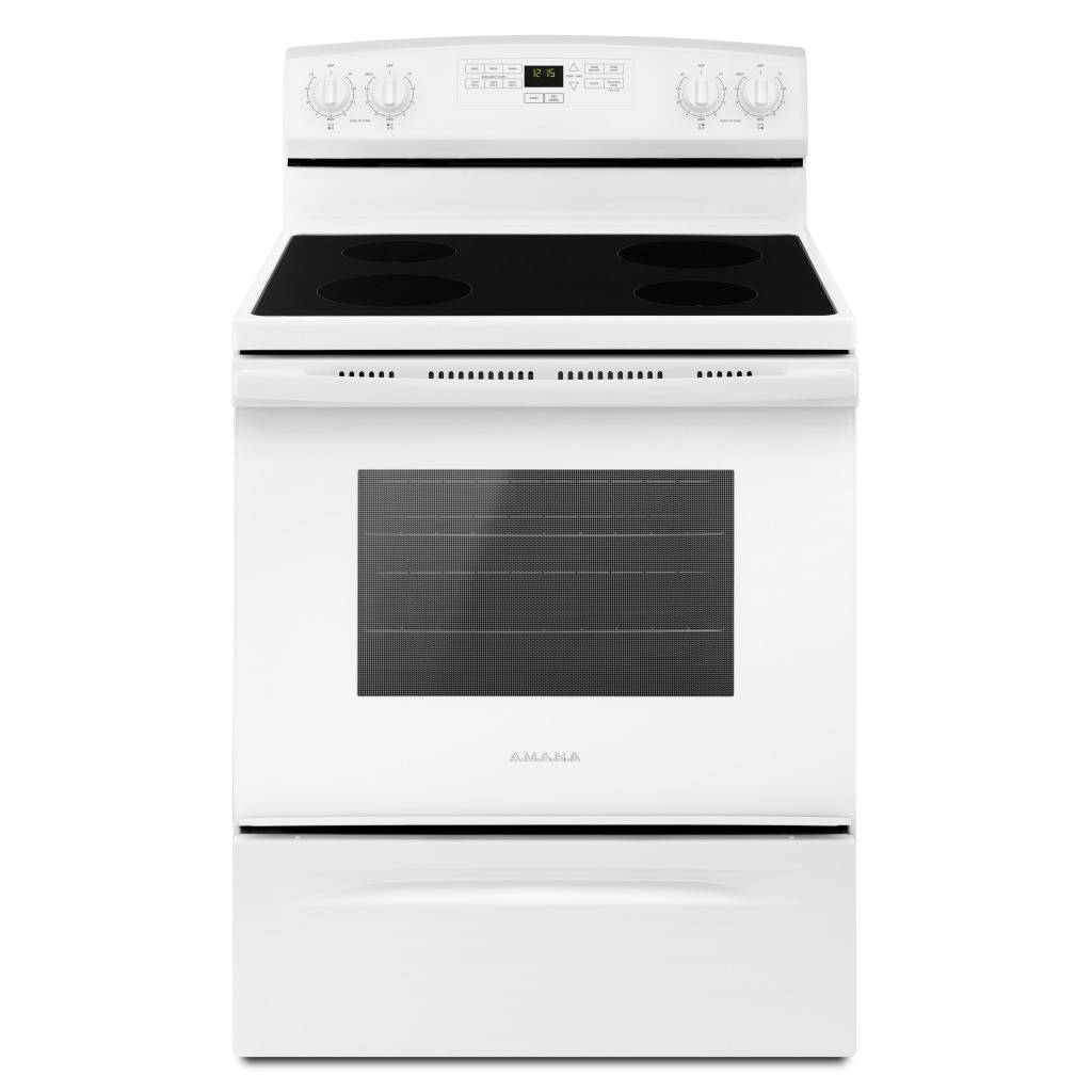 Yaer6303mfw 30 Inch Amana 174 Electric Range With Extra
