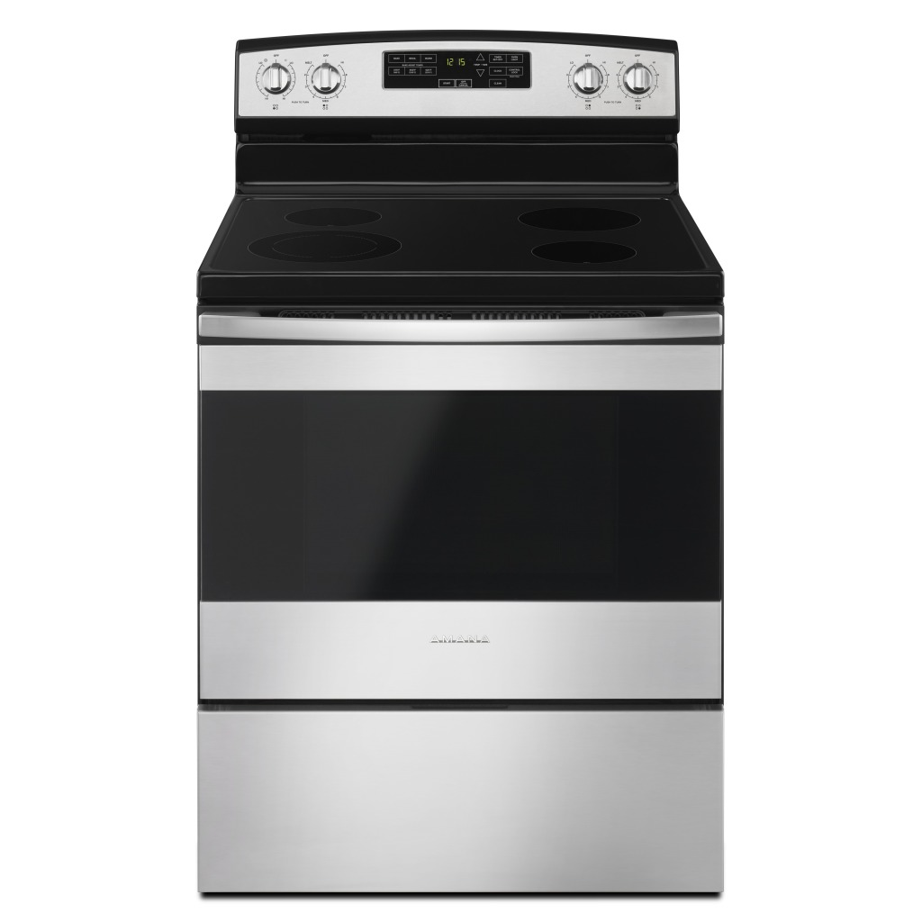 Electric Stoves Ranges ~ Yaer sfs inch amana electric range with self