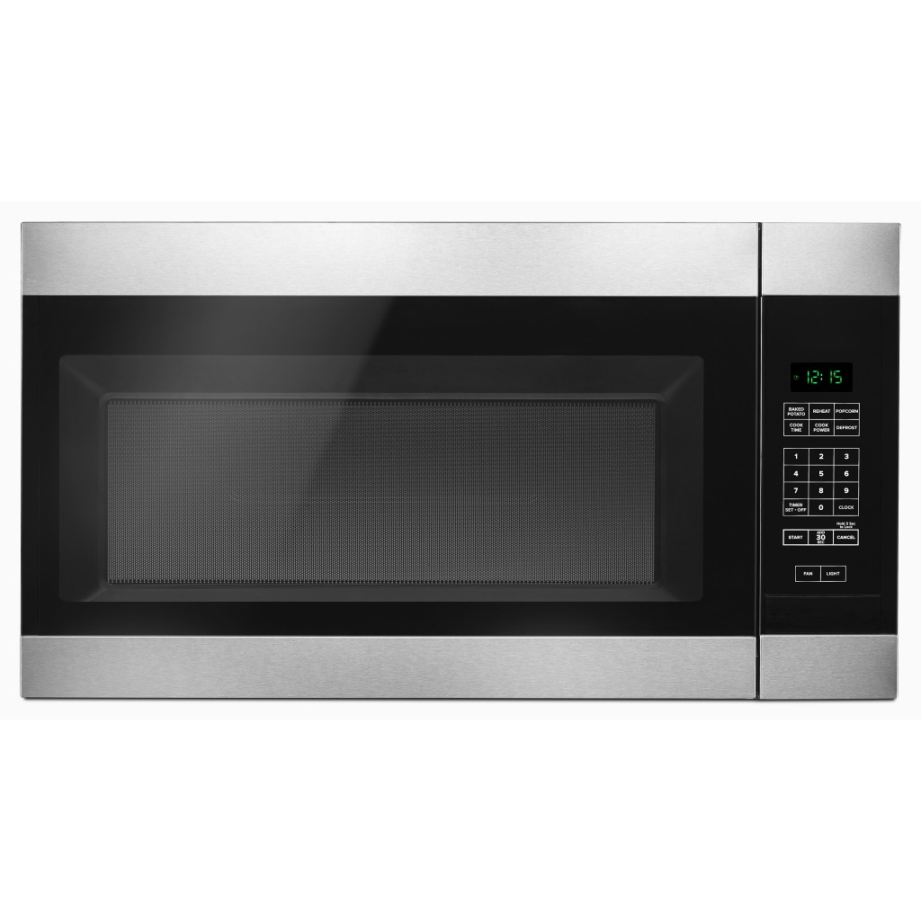 Yamv2307pfs 1 6 Cu Ft Amana 174 Over The Range Microwave