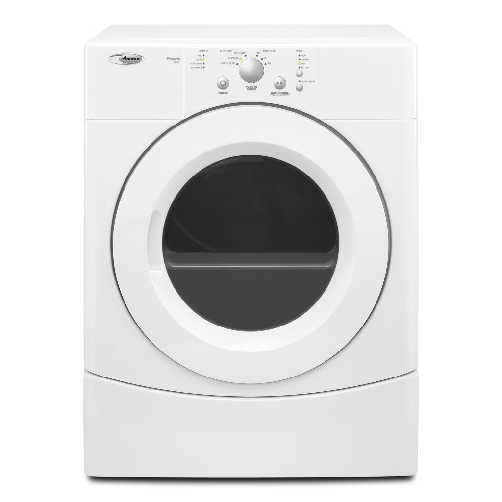 Yned4655ew Amana 65 Cu Ft Top Load Electric Dryer With Gas Wiring Diagram Quick View